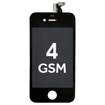 LCD, Digitizer & Frame Assembly for Apple iPhone 4 (GSM) (Black)