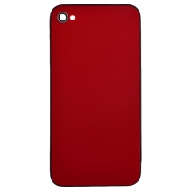 Door with Frame for Apple iPhone 4 (GSM) (Red) (Closeout)