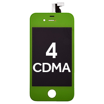 LCD, Digitizer & Frame Assembly for Apple iPhone 4 (CDMA) (Green) (Closeout)