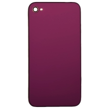 Door with Frame for Apple iPhone 4 (GSM) (Purple) (Closeout)