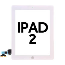 Digitizer & Home Button Assembly for Apple iPad 2 (White)
