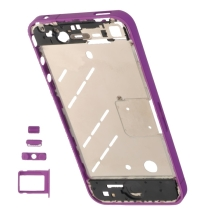 Housing (Mid Plate) for Apple iPhone 4 (GSM) (Lilac Purple) (Closeout)