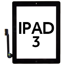 Digitizer & Home Button Assembly for Apple iPad 3 (Black)