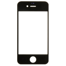 Lens for Apple iPhone 4 & 4S (Glass Only) (Black) (Closeout)