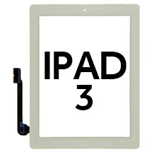Digitizer & Home Button Assembly for Apple iPad 3 (White)