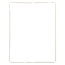 Digitizer Frame for Apple iPad 4 (White)