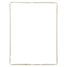 Digitizer Frame (with adhesive) for Apple iPad 2 (White)