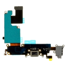 Flex Cable (Charge Port, Mic, Headphone Jack, Antenna) for Apple iPhone 6 Plus (CDMA & GSM) (Light Gray)