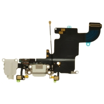 Flex Cable (Charge Port, Mic, Headphone Jack, Antenna) for Apple iPhone 6S (CDMA & GSM) (White)