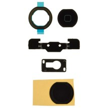 Home Button Parts & Camera Bracket for Apple iPad Air (Black)