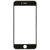Lens with Pre-Applied OCA Sheet for Apple iPhone 6 Plus & 6S Plus (Black) (Closeout)