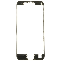 Lens Frame with Pre-Applied Hot Glue for Apple iPhone 6S (CDMA & GSM) (Black)