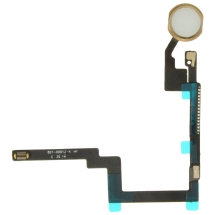 Flex Cable (Home Button) for Apple iPad Mini 3 (White & Gold)