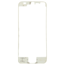Lens Frame with Pre-Applied Hot Glue for Apple iPhone 5 (White) (Closeout)