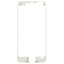 Lens Frame with Pre-Applied Hot Glue for Apple iPhone 6 (White) (Closeout)