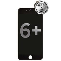 LCD, Digitizer & Frame Assembly for Apple iPhone 6 Plus (Black) (Grade A)