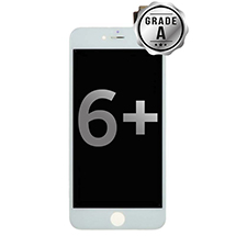 LCD, Digitizer & Frame Assembly for Apple iPhone 6 Plus (White) (Grade A)