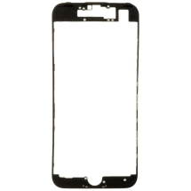 Lens Frame with Pre-Applied Hot Glue for Apple iPhone 7 (Black) (Closeout)