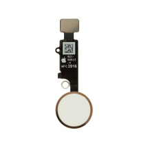 Home Button Assembly for Apple iPhone 7 (White with Rose Gold Ring)