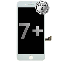 LCD, Digitizer & Frame Assembly for Apple iPhone 7 Plus (CDMA & GSM) (White) (Grade A)