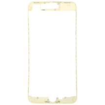 Lens Frame with Pre-Applied Hot Glue for Apple iPhone 8 Plus (White)