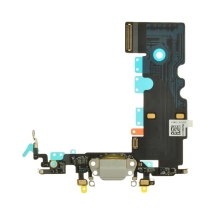 Flex Cable (Charge Port, Mic, Antenna) for Apple iPhone 8 (Light Gray)