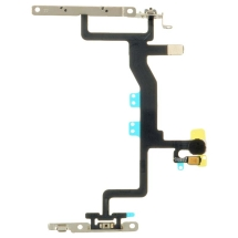 Flex Cable with Metal Bracket (Power, Volume, Mute Toggle, & Microphone) for Apple iPhone 6S