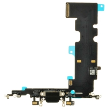 Flex Cable (Charge Port & Microphone) for Apple iPhone 8 Plus (Black)