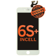 LCD, Digitizer & Frame Assembly for Apple iPhone 6S Plus  (White) (Premium Evolve Incell)