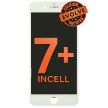 LCD, Digitizer & Frame Assembly for Apple iPhone 7 Plus (White) (Premium Evolve Incell)