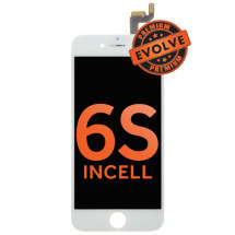 LCD, Digitizer & Frame Assembly for Apple iPhone 6S (White) (Premium Evolve Incell)