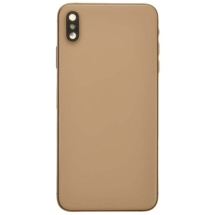 Housing (Back Glass, Frame, Wireless Charging Coil & Small Components) for Apple iPhone XS Max (Gold)
