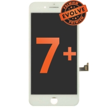 LCD, Digitizer & Frame Assembly for Apple iPhone 7 Plus (White) (Premium Evolve)