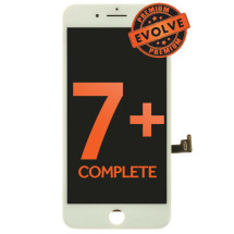 Complete LCD, Digitizer & Frame Assembly for Apple iPhone 7 Plus (White) (Premium Evolve)