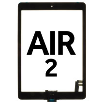 Digitizer (with Home Button & Adhesive) for Apple iPad Air 2 (Black) (Premium)