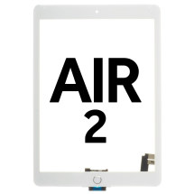 Digitizer (with Home Button & Adhesive) for Apple iPad Air 2 (White) (Premium)