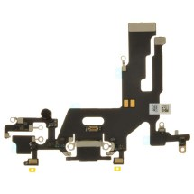 Flex Cable (Charge Port & Mics) for Apple iPhone 11 (Black) (Premium)
