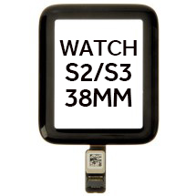 Digitizer for Apple Watch Series 2 & 3 (38mm) (Black)