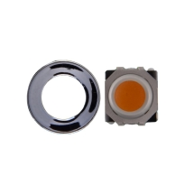 Trackball & Ring for BlackBerry Pearl, Curve, 88xx, Bold 9000, Javelin 8900, Pearl Flip (Orange) (Closeout)