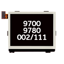 LCD (002/111) for BlackBerry 9700, 9780, Bold (White) (Closeout)