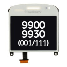 LCD, Digitizer & Lens (001/111) for BlackBerry Bold Touch 9900, 9930 (White) (Closeout)