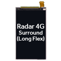 LCD for HTC Radar 4G, Surround (Long Flex) (Closeout)