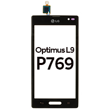 Digitizer & Frame Assembly for LG P769 Optimus L9 (Black) (Closeout)
