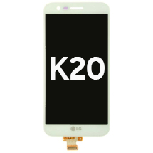 LCD & Digitizer Assembly for LG K20 (White)