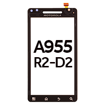 Digitizer (Narrow Flex) for Motorola A955 Droid R2-D2 (Closeout)