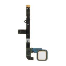 Flex Cable (Home Button) for Motorola Moto Z Play (White)