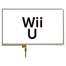 Digitizer (Gamepad) for Nintendo Wii U (White)