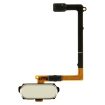 Flex Cable (with Home Button) for Samsung Galaxy S6 (White) (Closeout)