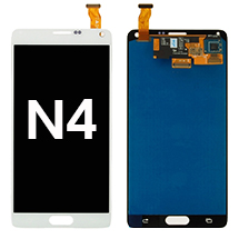 LCD & Digitizer Assembly for Samsung Galaxy Note 4 (White) (Aftermarket)