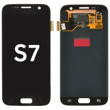 OLED & Digitizer Assembly for Samsung Galaxy S7 (Onyx) (Aftermarket)